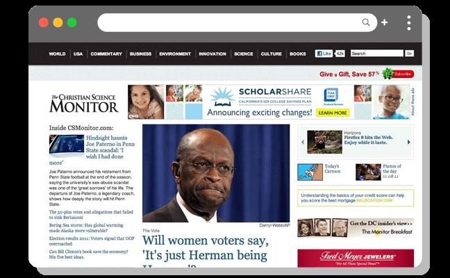 ニュース例1(高)新聞のホームページ