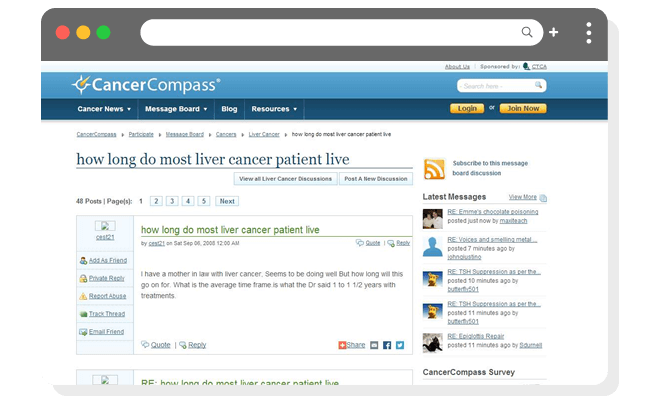 Q&A例(高)がん患者の生存期間