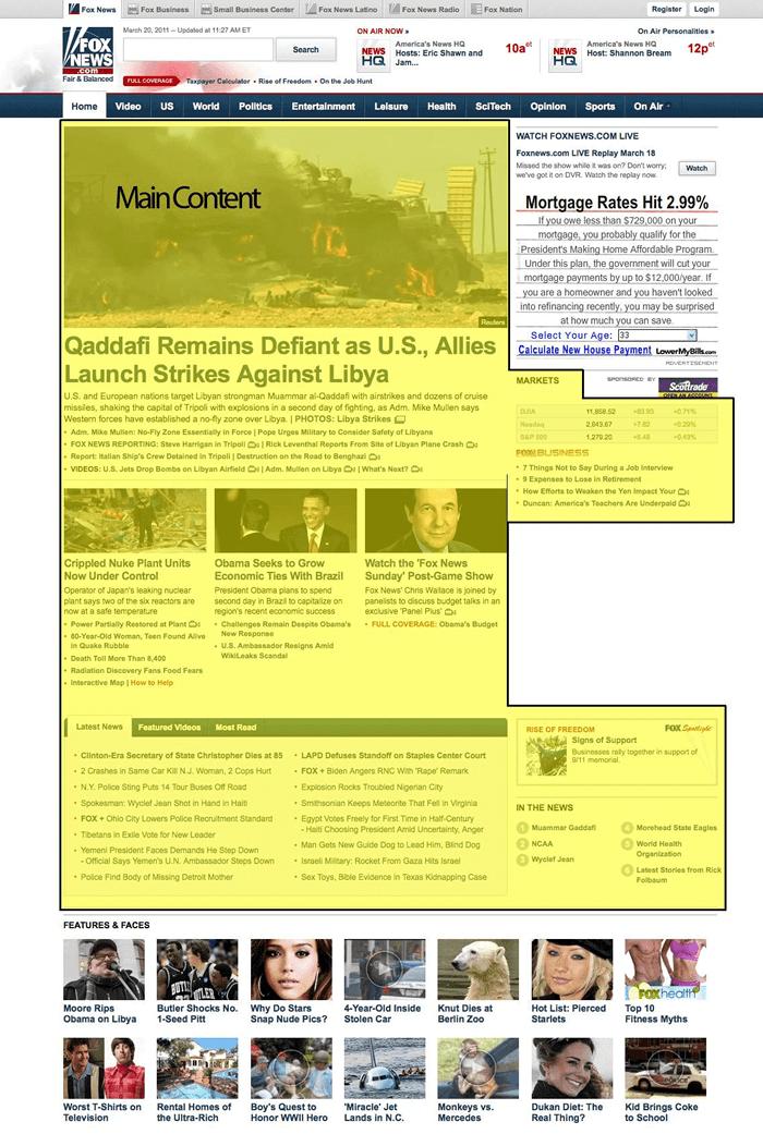 ニュースサイト例