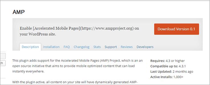 WordPress公式のAMPプラグインVersion 0.1をリリース